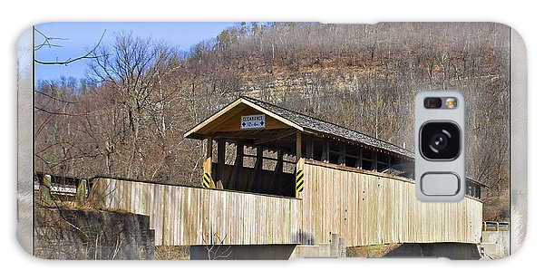 Covered Bridge In Pa. Galaxy Case