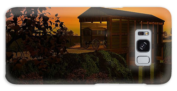 Covered Bridge Galaxy Case by John Pangia