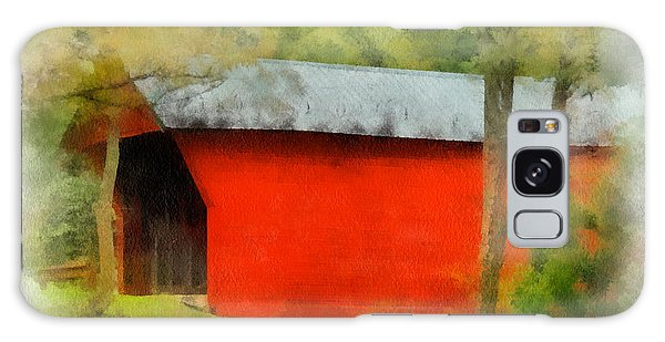 Covered Bridge - Sinking Creek Galaxy Case