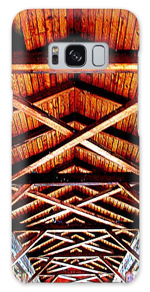 Covered Bridge Structure Galaxy Case