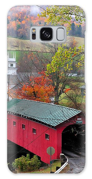 Covered Bridge-west Arlington Vermont Galaxy Case