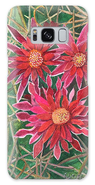 Coville Barrel Blossoms Galaxy Case