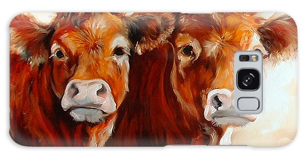 Cow Cow Galaxy Case