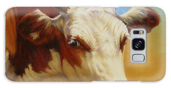 Cow Face Galaxy Case