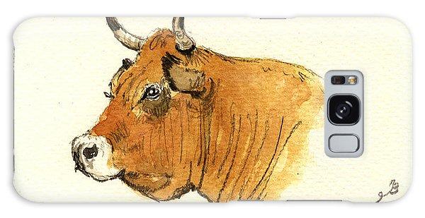 Bull Galaxy Case - Cow Head Study by Juan  Bosco