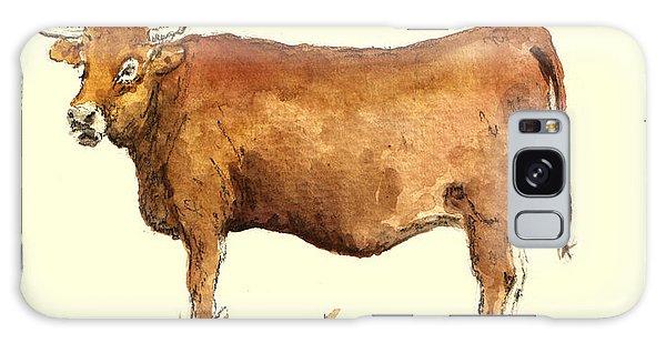 Cow Galaxy S8 Case - Cow by Juan  Bosco