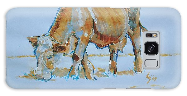 Cow Painting Galaxy Case