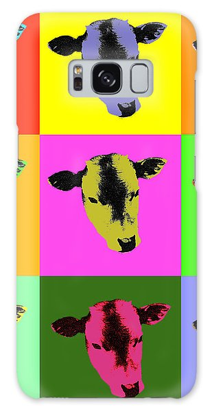 Cow Pop Art Galaxy Case