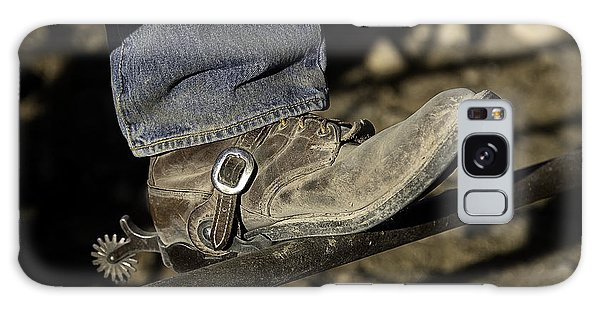 Cowboy Boots And Spurs Galaxy Case