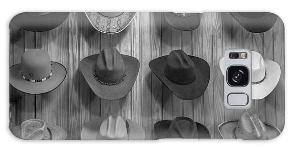 Cowboy Hats On Wall In Nashville  Galaxy Case