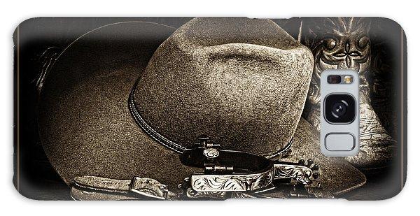 Cowboy Toast Galaxy Case
