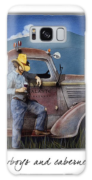 Cowboys And Cabernet... Galaxy Case
