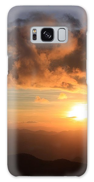 Cowee Mountains Sunset - Blue Ridge Parkway Galaxy Case by Mountains to the Sea Photo
