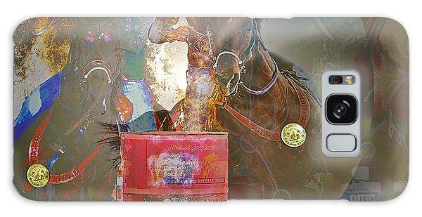 Cowgirl Cadillac Galaxy Case by Mayhem Mediums