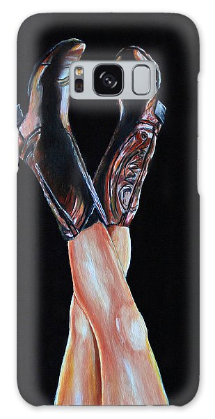 Cowgirl Legs Galaxy Case