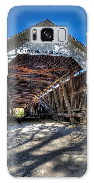 Cox Ford Covered Bridge Galaxy Case