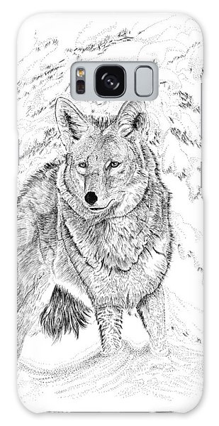 Coyote Galaxy Case by Carl Genovese