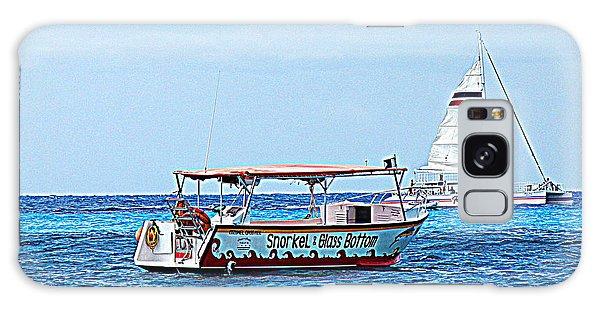 Cozumel Excursion Boats Galaxy Case by Debra Martz