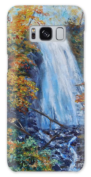 Crab Apple Falls Galaxy Case