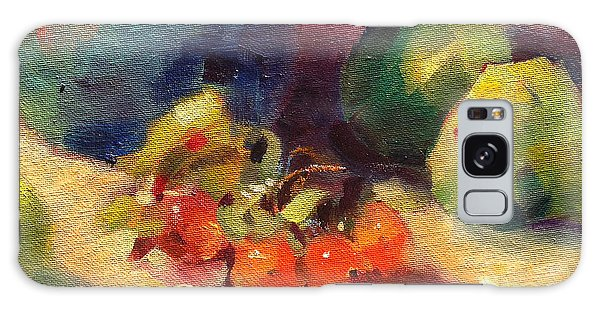 Crab Apples And Pears Galaxy Case by Michelle Abrams