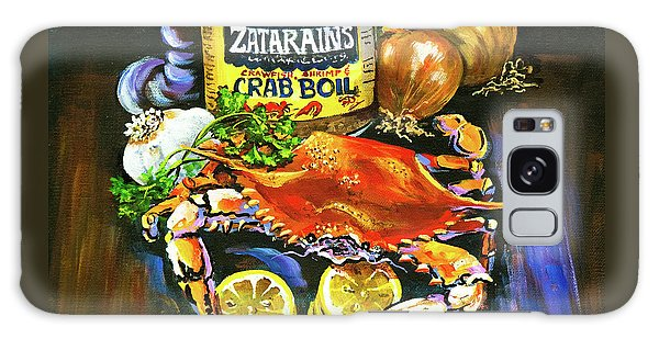 Crab Fixin's Galaxy Case