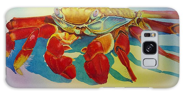 Colorful Crab  Galaxy Case