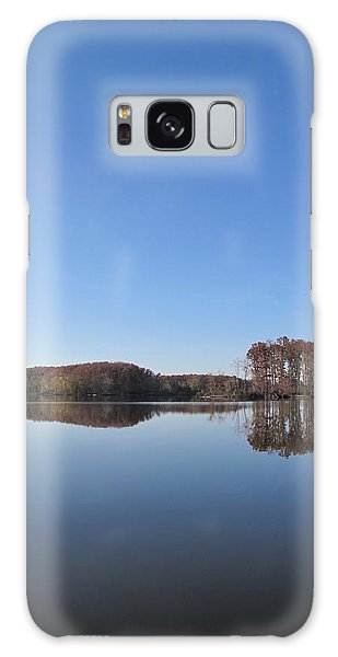 Crab Orchard Lake's Blue Mood Galaxy Case