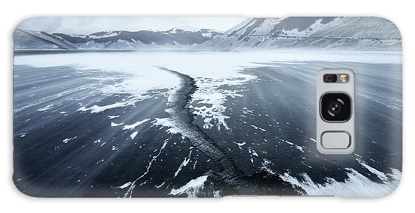 Ice Galaxy Case - Crack In The Ice by Riccardo Lucidi