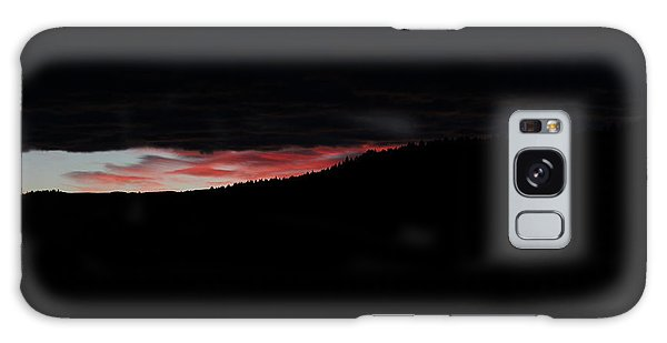 Galaxy Case featuring the photograph Crack Of Dawn by Ann E Robson