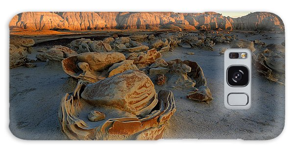 Cracked Eggs In The Bisti Badlands  Galaxy Case by Alan Vance Ley