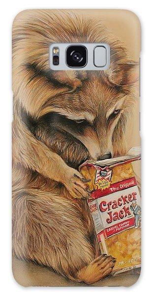 Cracker Jack Bandit Galaxy Case by Jean Cormier