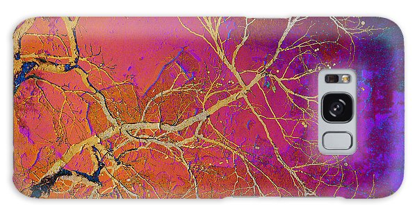 Crackling Branches Galaxy Case