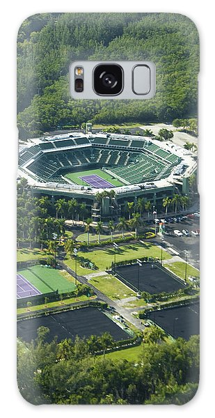 Crandon Park Tennis Center Galaxy Case by Celso Diniz