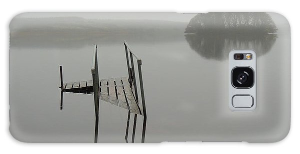 Crannog At Lake Knockalough Galaxy Case