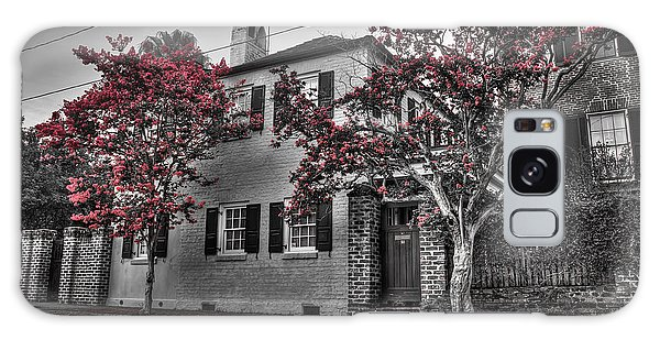 Crape Myrtles In Historic Downtown Charleston 1 Galaxy Case
