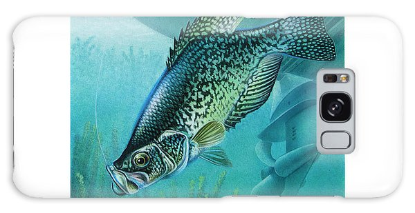 Motor Galaxy Case - Crappie And Boat by JQ Licensing