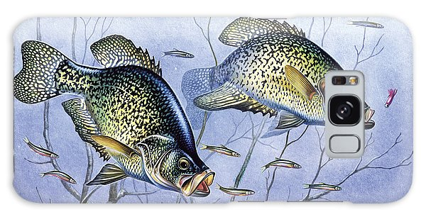 Crappie Brush Pile Galaxy Case