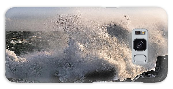 Crashing Surf Galaxy Case by Marty Saccone