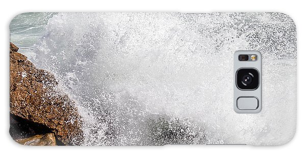 Crashing Wave Acadia  Galaxy Case by Trace Kittrell