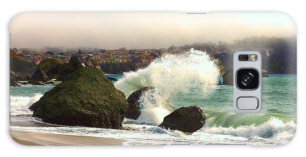 Crashing Waves Galaxy Case