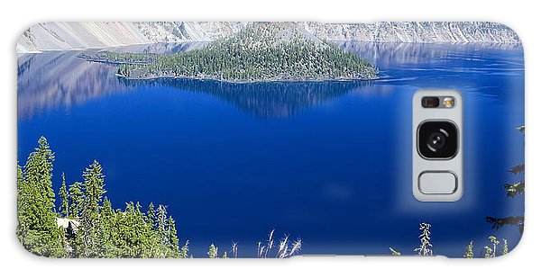 Crater Lake Panorama 090914b Galaxy Case