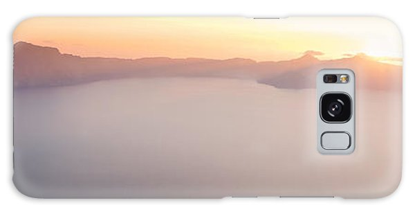 Crater Lake Panorama Galaxy Case
