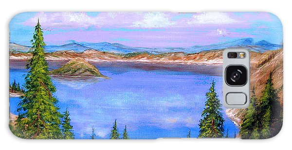Crater Lake Oregon Galaxy Case