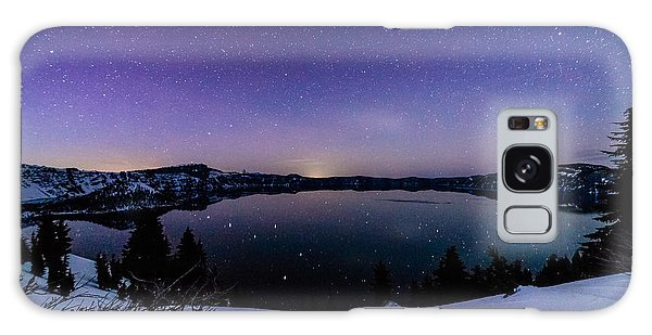 Crater Lake Reflections Galaxy Case