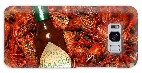 Crawfish And Tabasco Galaxy Case
