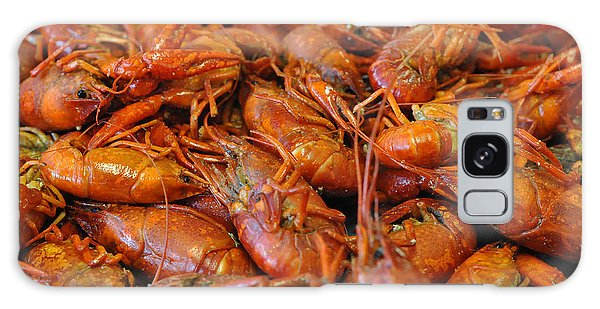 Crawfish Boil Galaxy Case