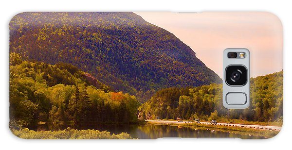 Crawford Notch Homage To Thomas Cole Galaxy Case