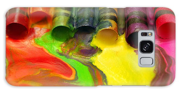 Crayon Cooperation Galaxy Case by Margie Chapman