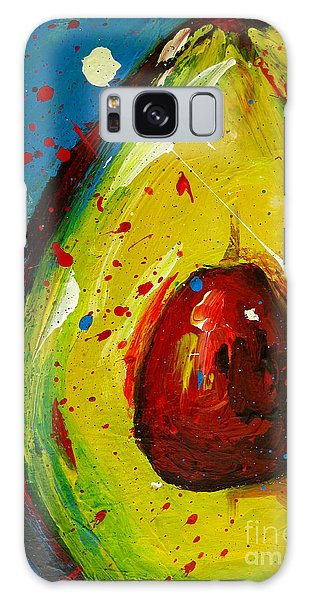 Crazy Avocado 4 - Modern Art Galaxy Case