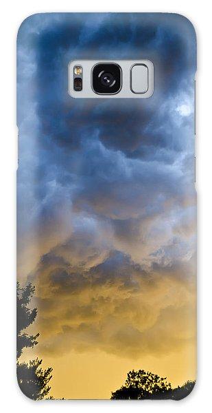 Crazy Storm Clouds Galaxy Case